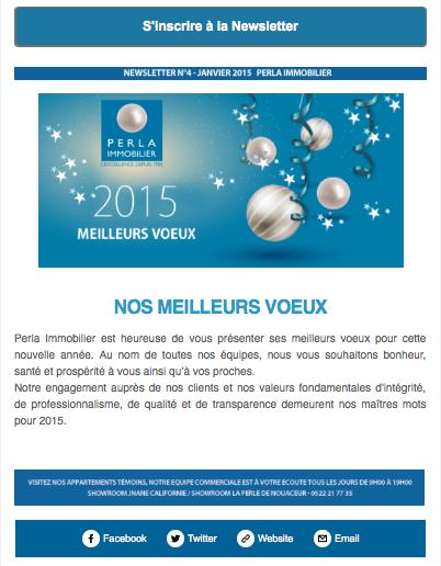 Newsletter Janvier