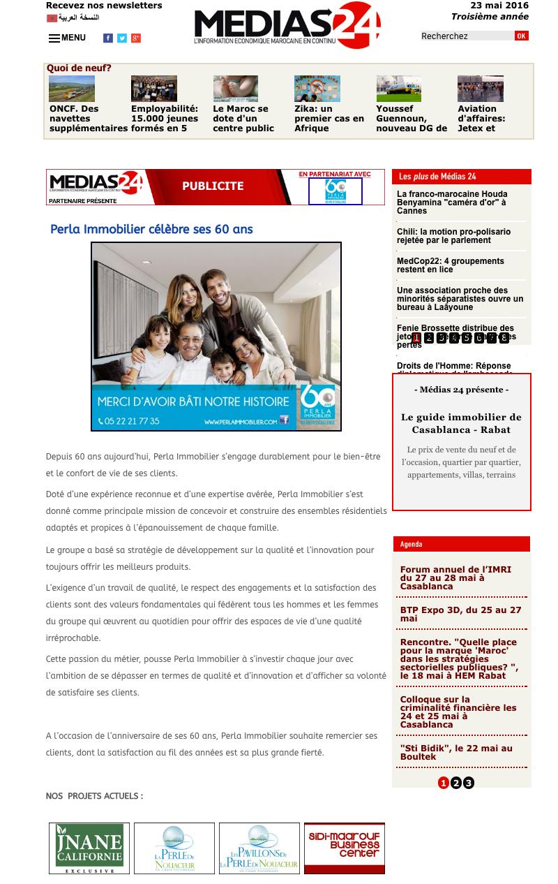 Médias24 23 mai 2016